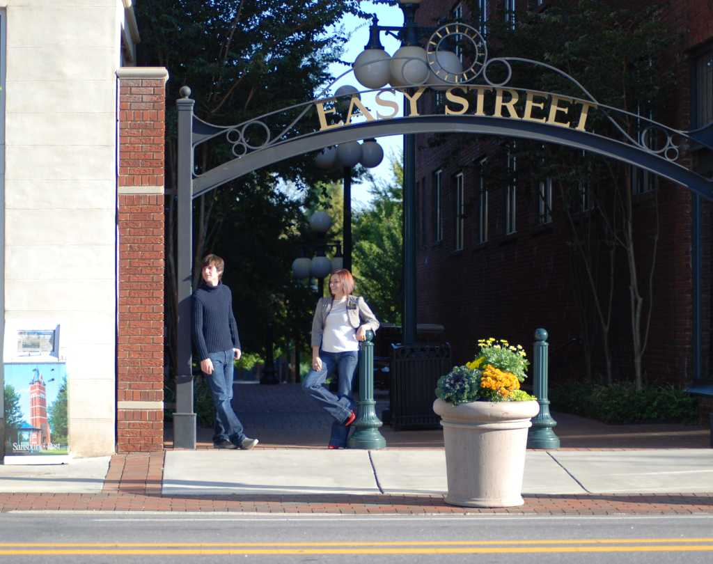 Entrance to Easy Street