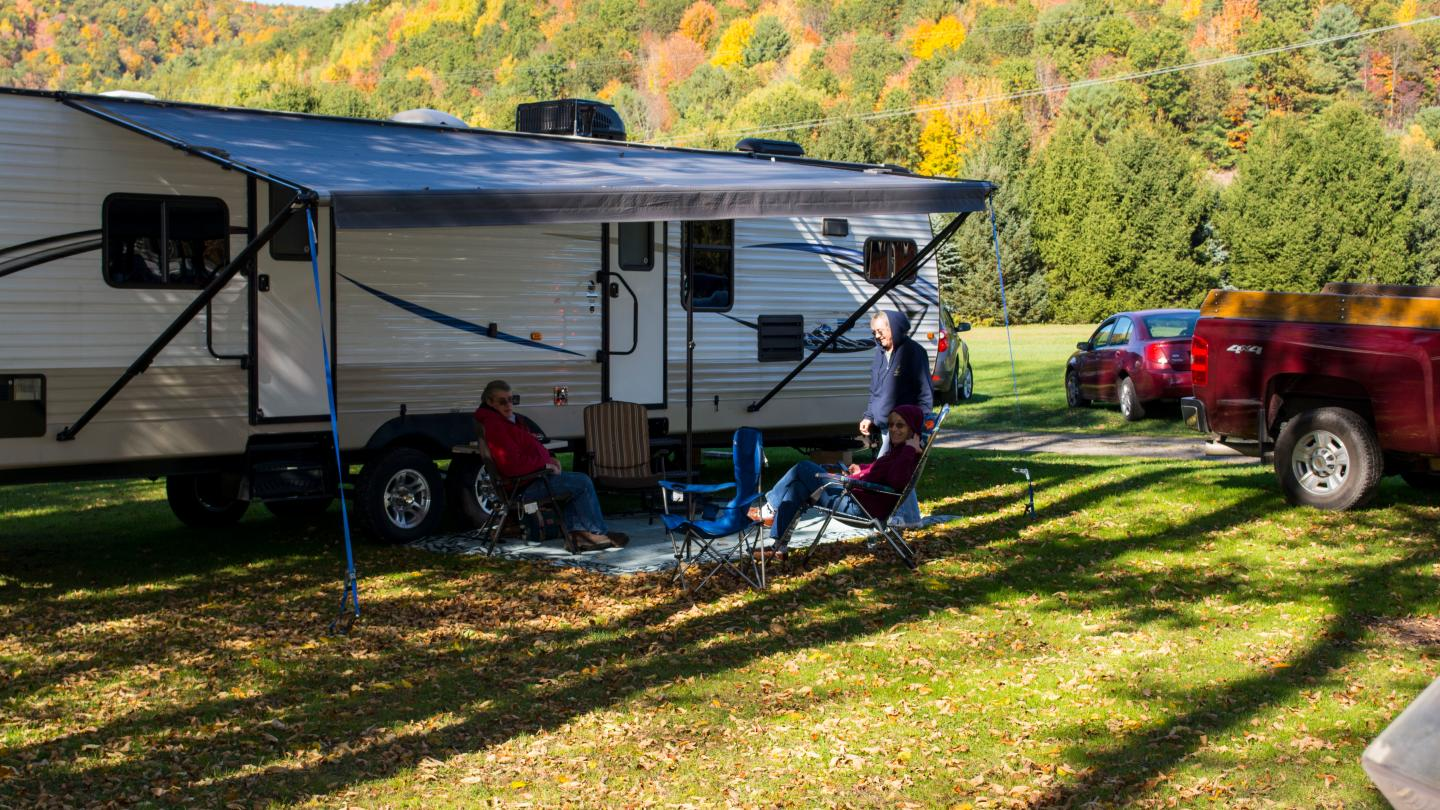 RV at Camp Bell Campground