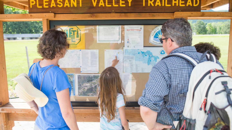 Finger Lakes Trailhead Map