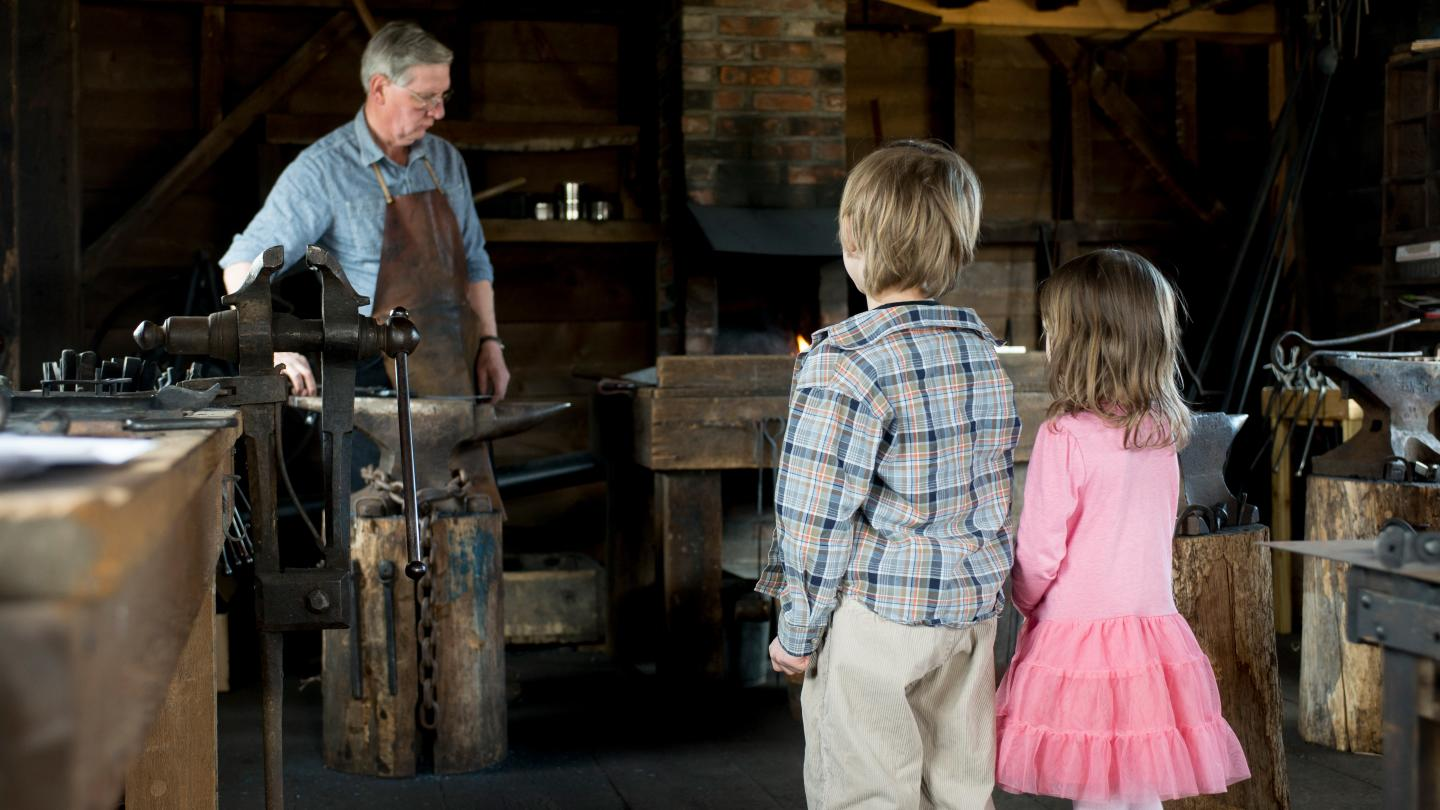 Heritage Village of the Southern Finger Lakes Blacksmith