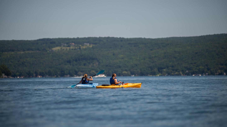 Kayaking Keuka Lake