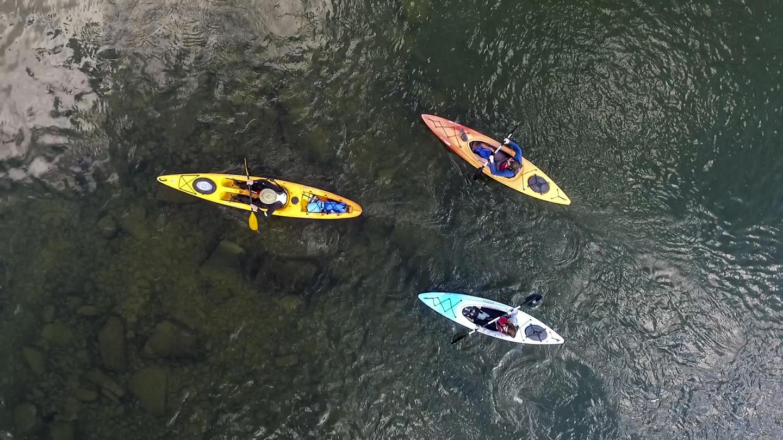 Paddle the Palisades Chemung River Kayak Paddle