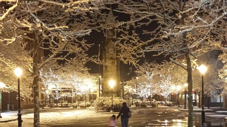 Winter Centerway Square Corning Family