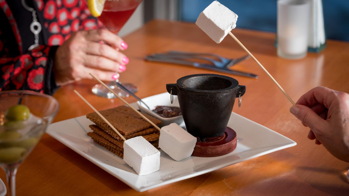 Chocolate S'mores at The Cellar