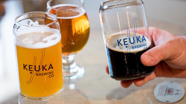 Keuka Brewing Beers