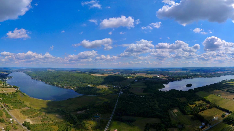 Lamoka Lake and Waneta Lake