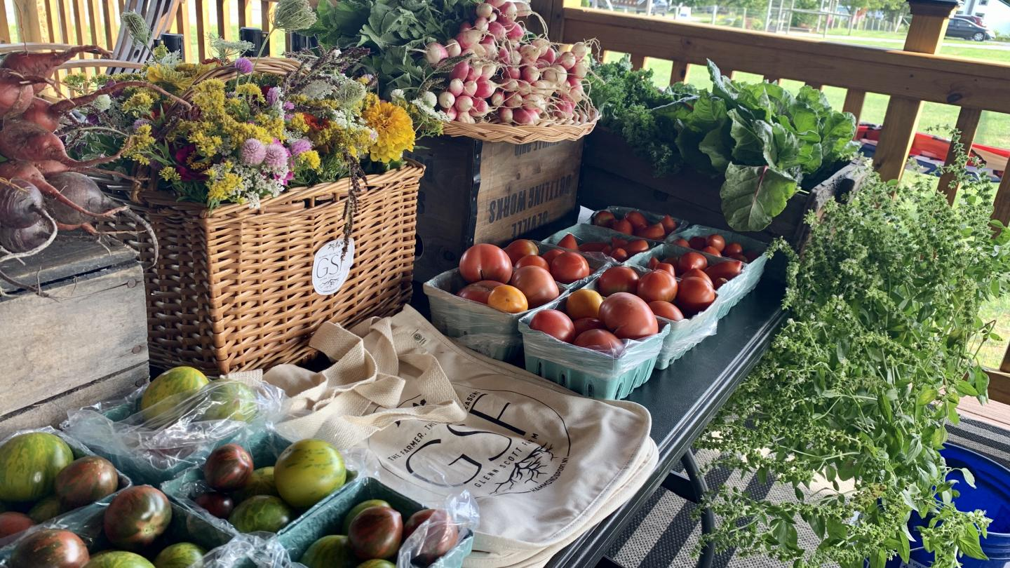 Farm Market at Point of the Bluff Vineyards