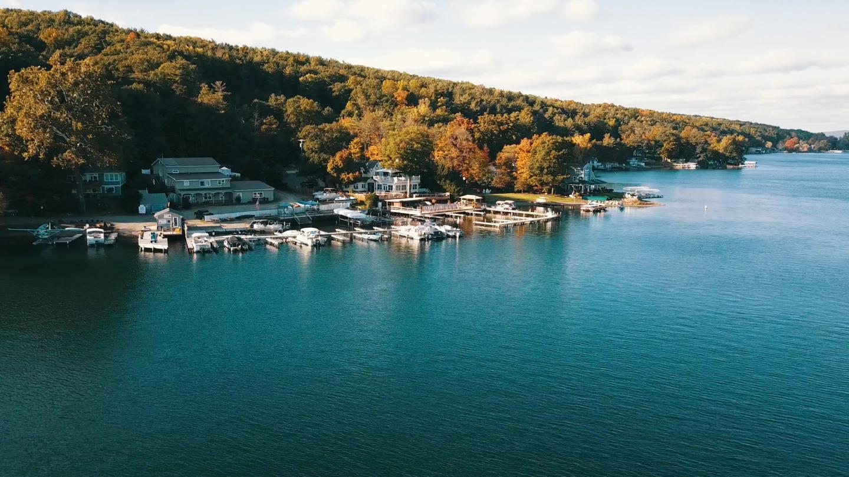 lakeside dining drone  Lakeside Tavern Restaurant