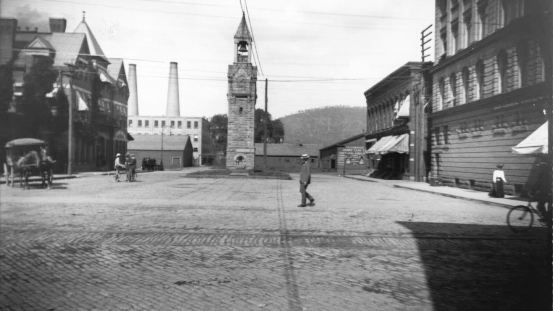 Historic Photo of Square