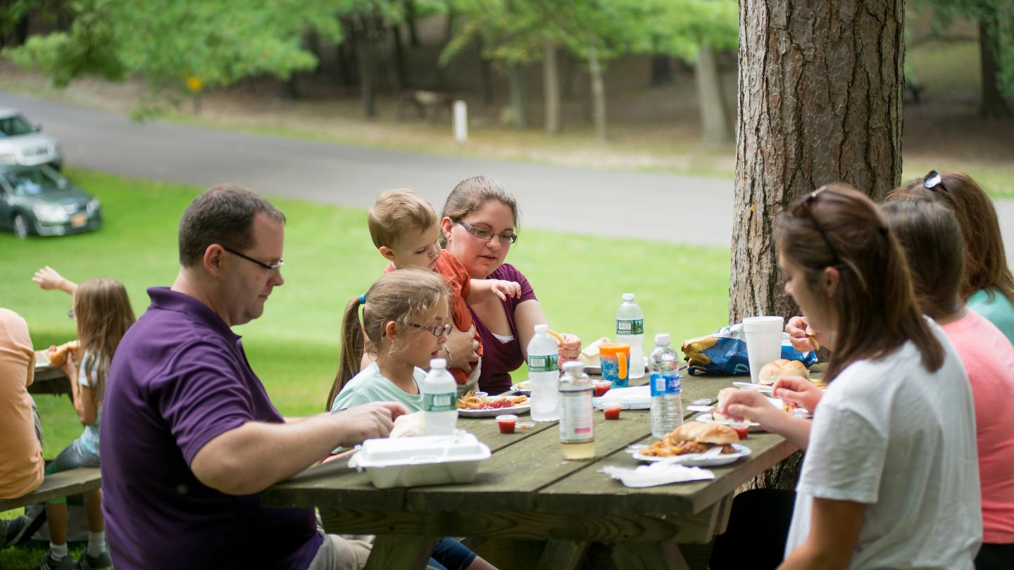Picnic at Stony Brook State Park