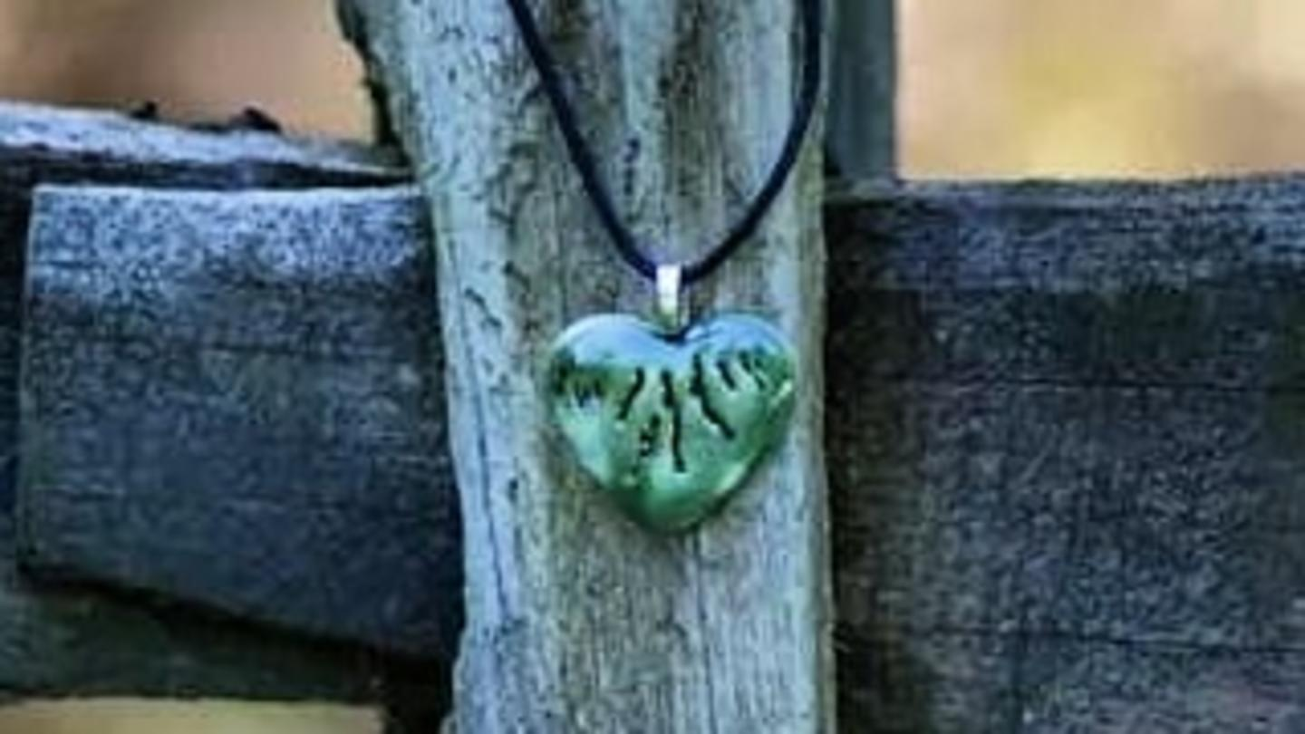 heart of the FLX pendant