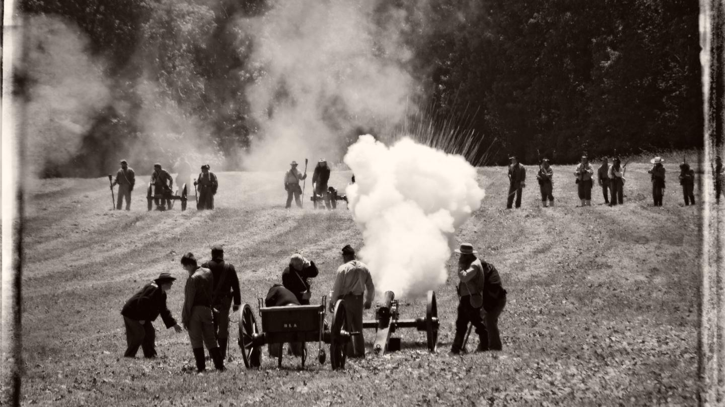 Battle of Lain's Mills Reenactment