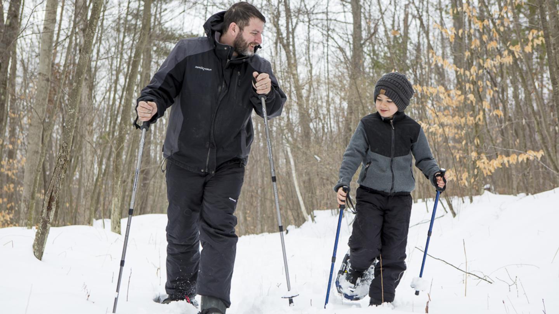 Spencer Crest Snow Shoeing