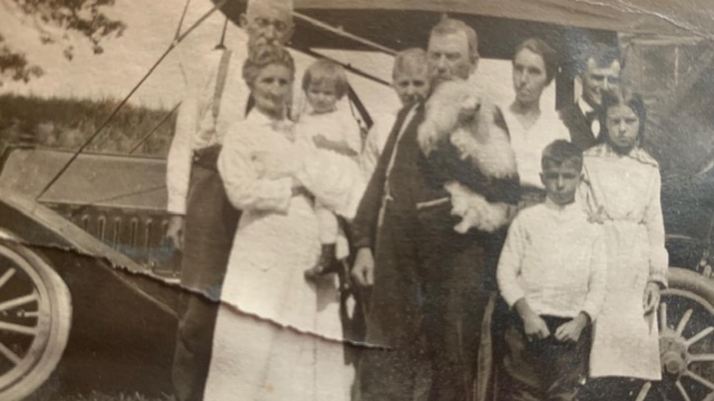 Frederick Deuerlein Historic Family Photo