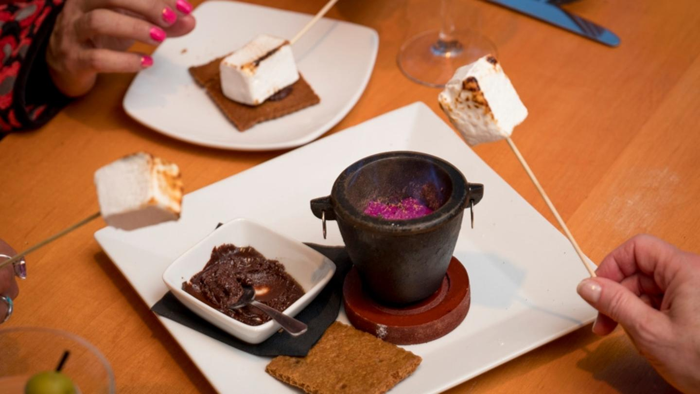 S'mores at The Cellar