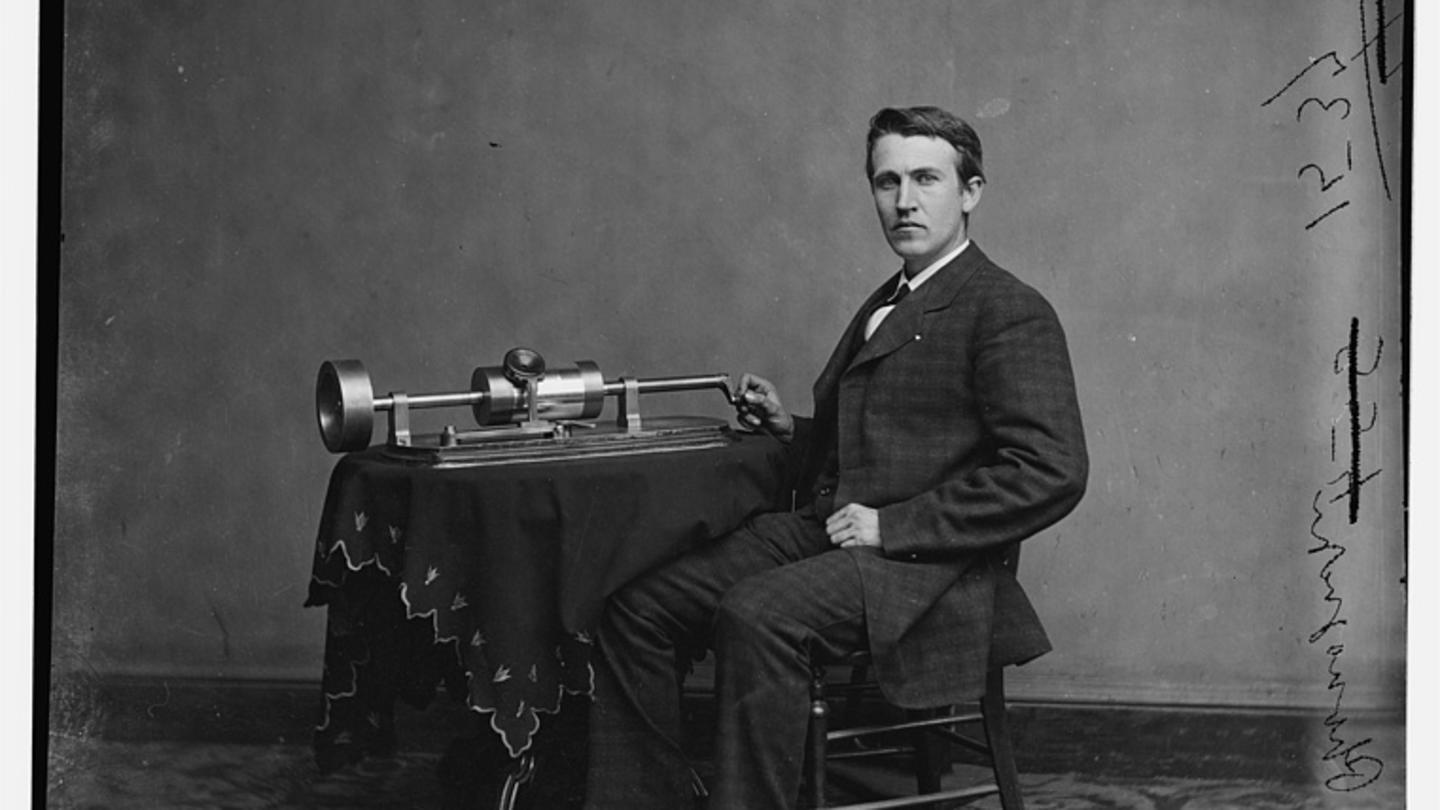 Young Thomas Edison Around 1870