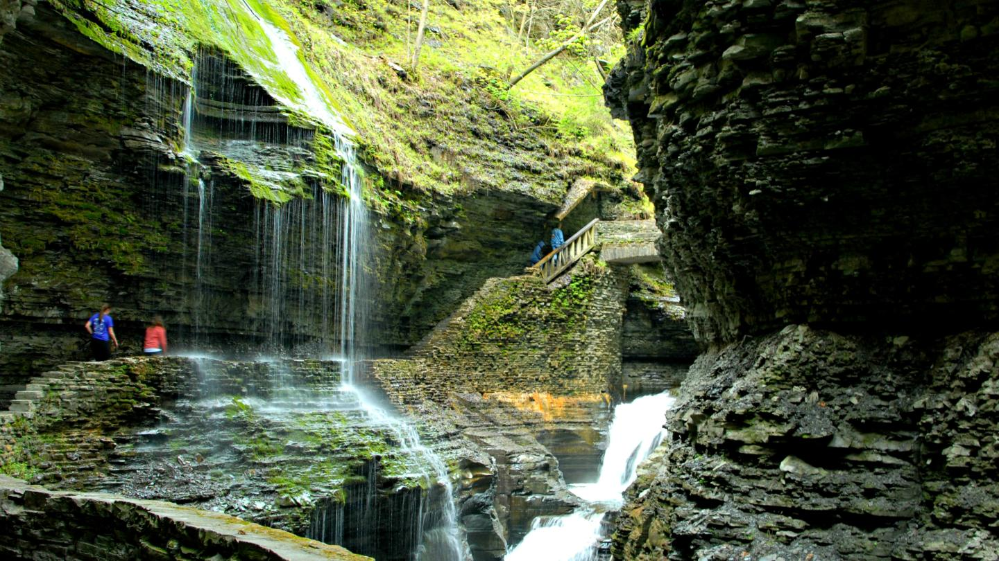 Hike Among Waterfalls at Watkins Glen State Park