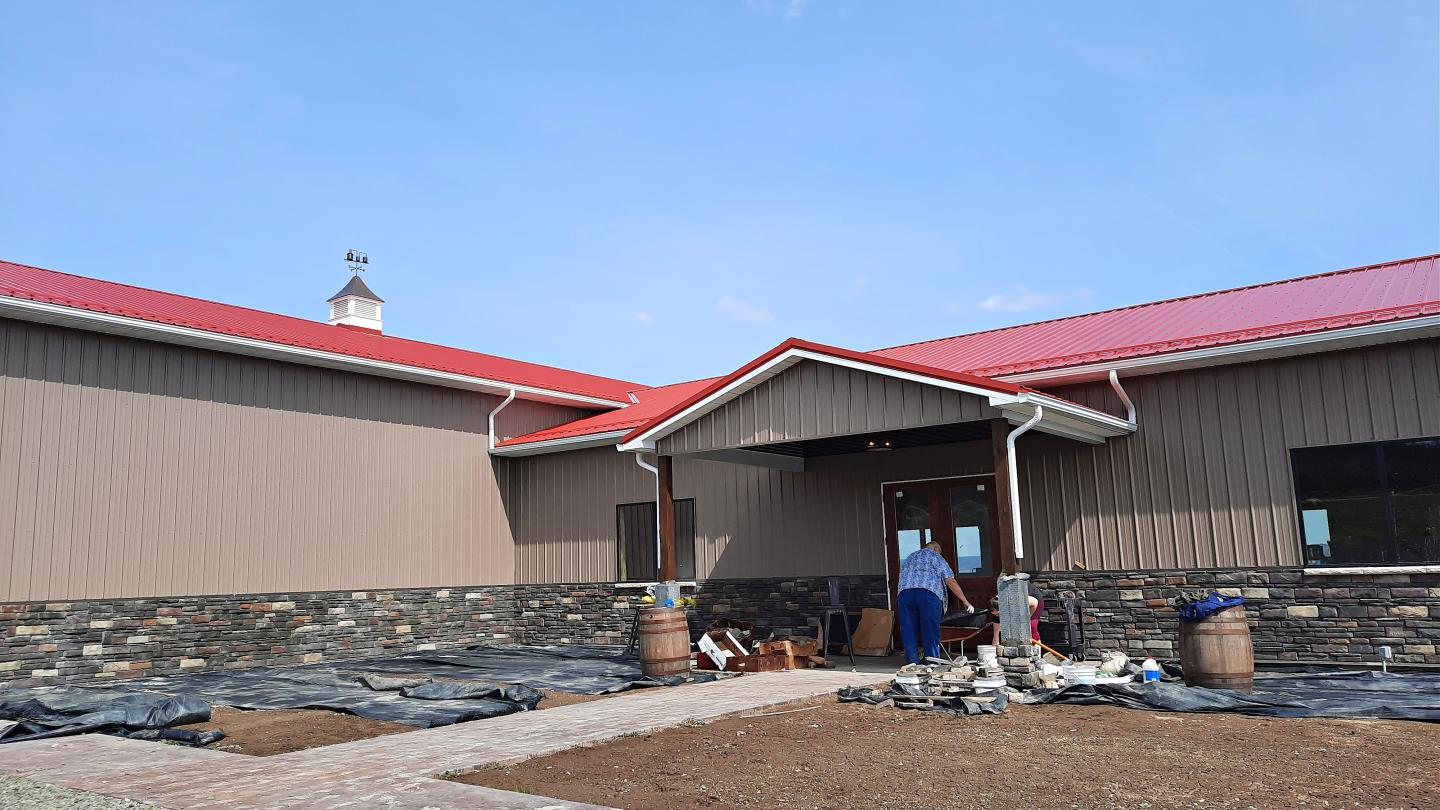 Finishing Touches Landscaping at Barrelhouse 6 Distillery