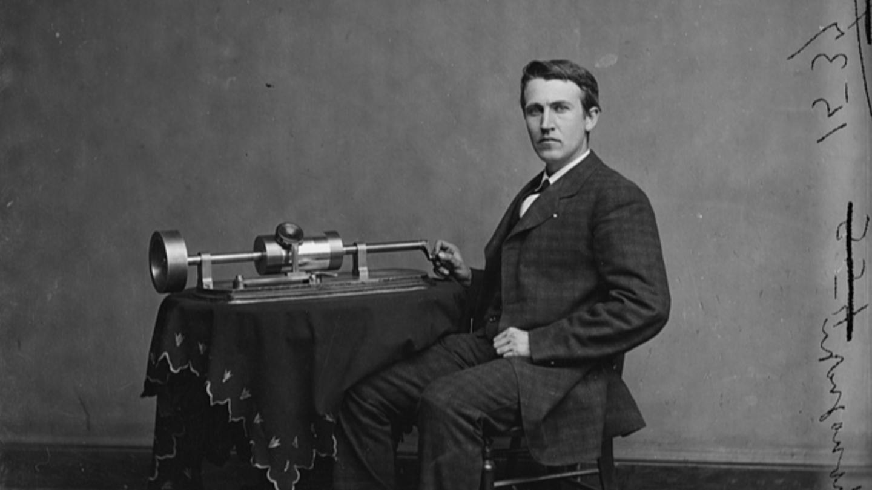 Young Thomas Edison Around 1870