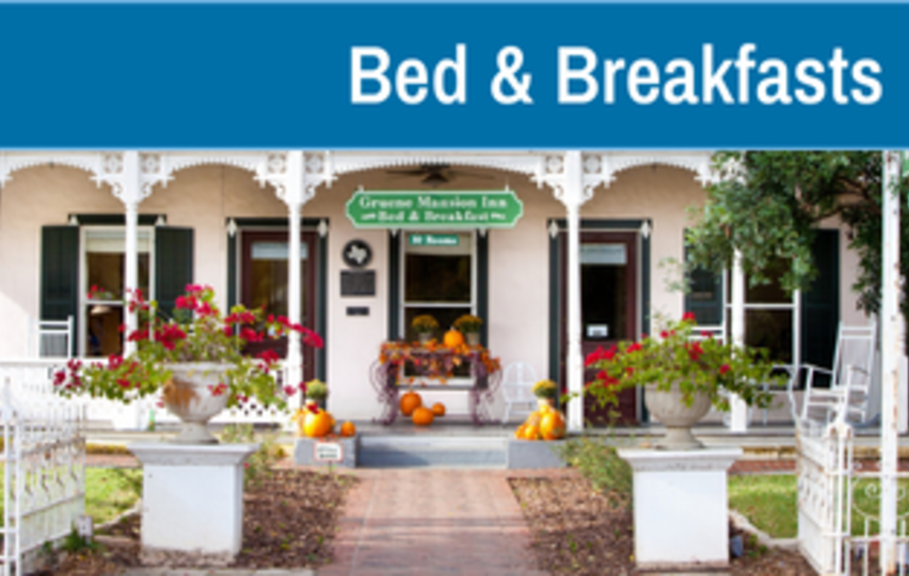 Bed & Breakfasts Accommodations in New Braunfels, Texas
