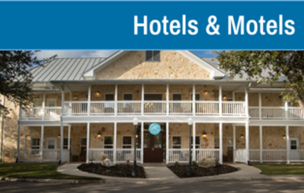 Hotels & Motels - Fall 2021 Accomodations in New Braunfels Texas