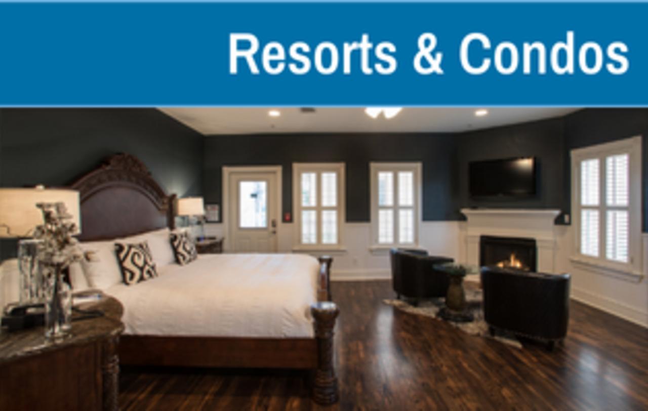 Resorts & Condos in New Braunfels, Texas