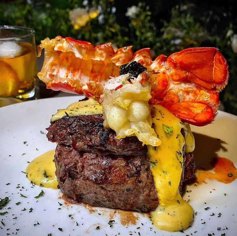 Fillet with Poached Lobster from Flemings