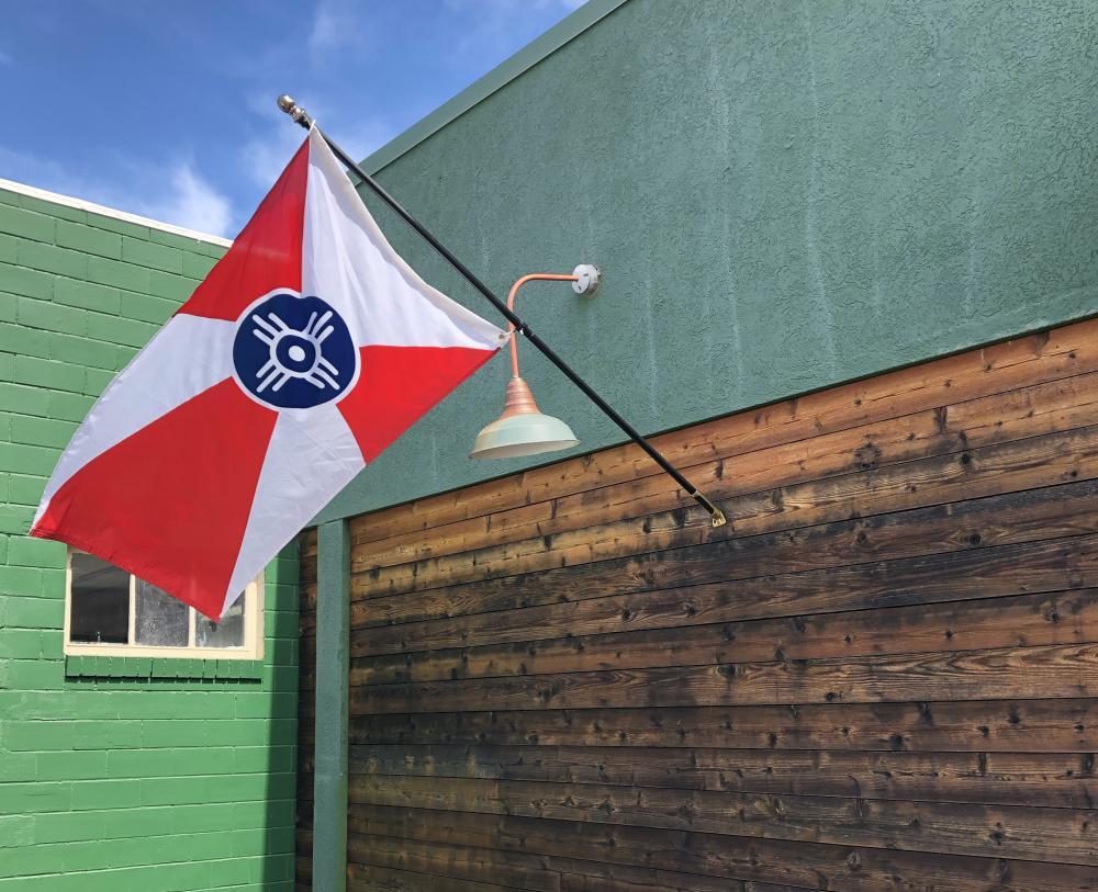 Wichita Flag - Workroom