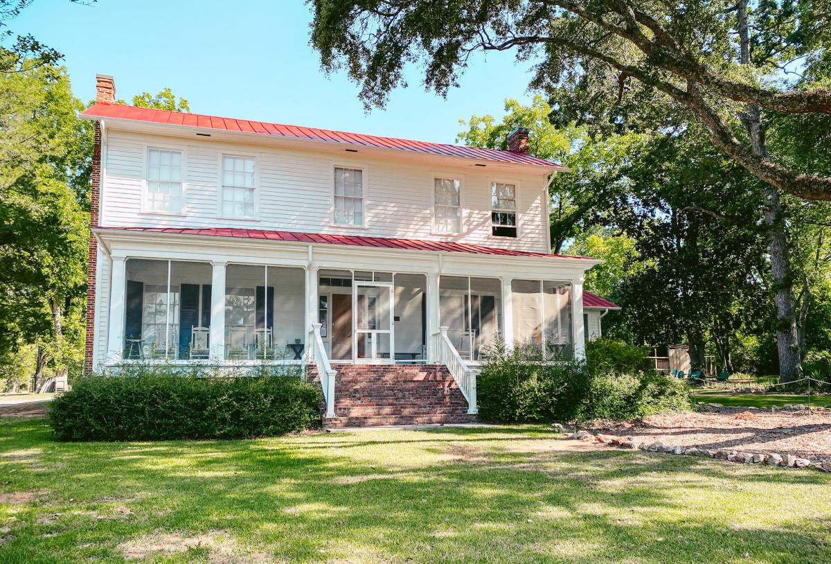 Andalusia Farm House Exterior In Milledgeville, GA