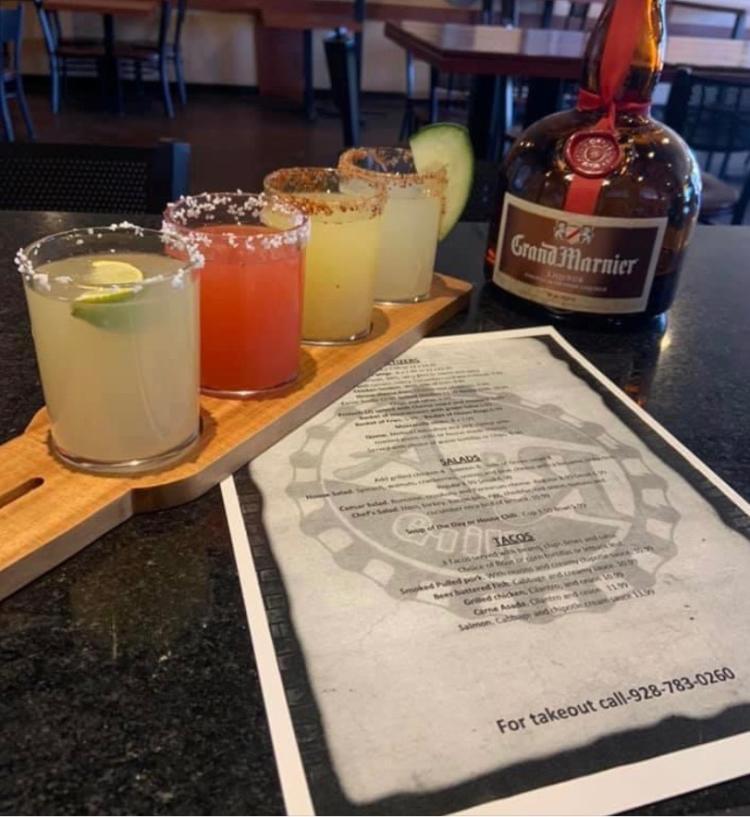 A&R Grill Margarita Flight
