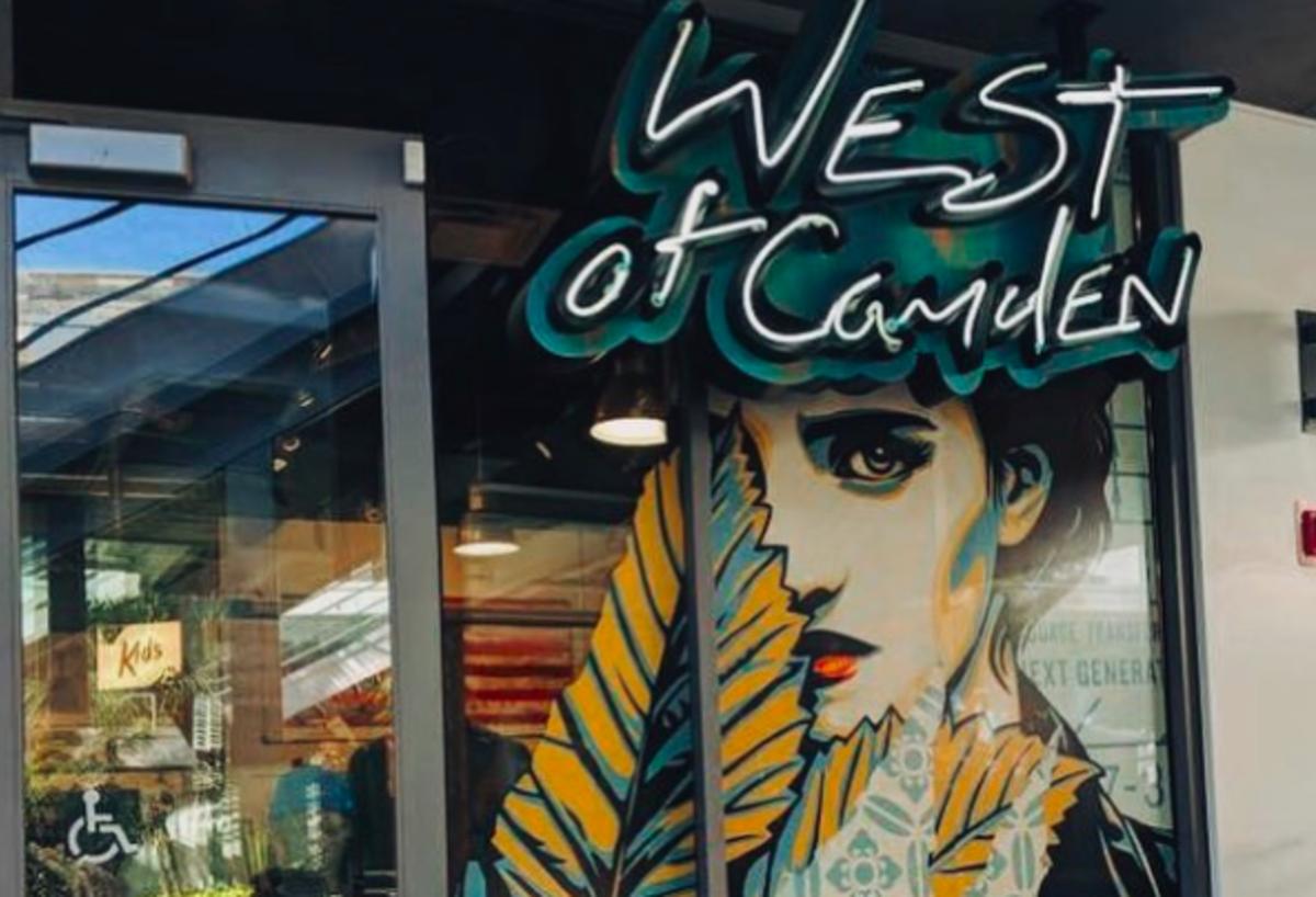West of Camden in Huntington Beach