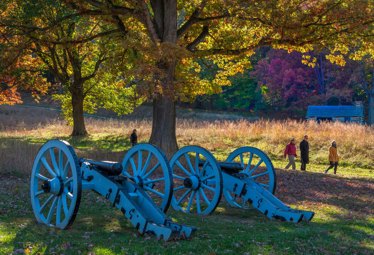 fall valley forge park