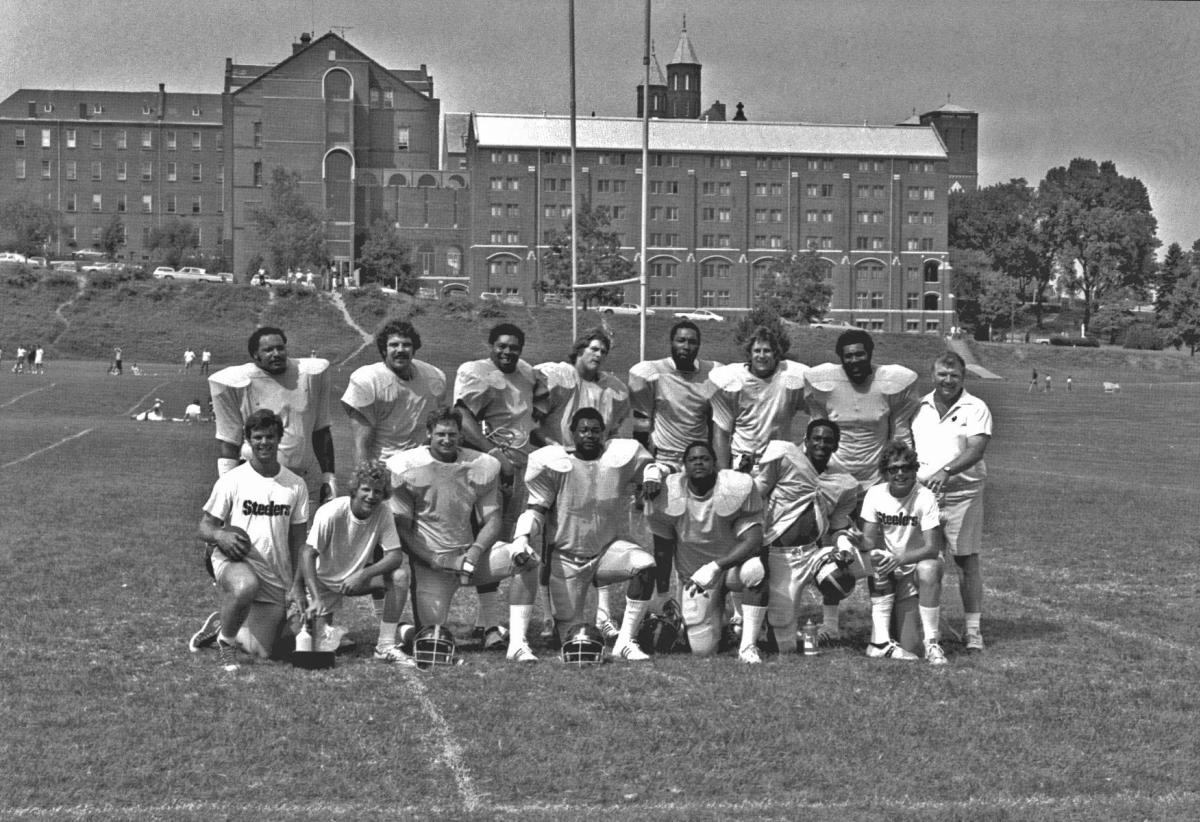 Vintage photo from Steelers Training Camp