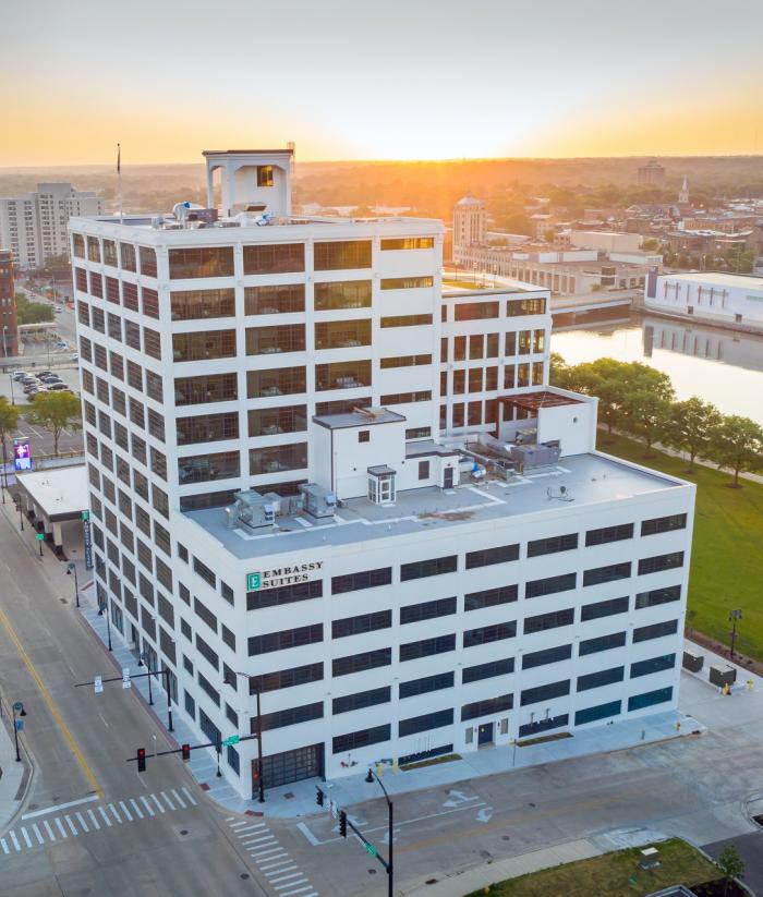 Embassy Suites Drone