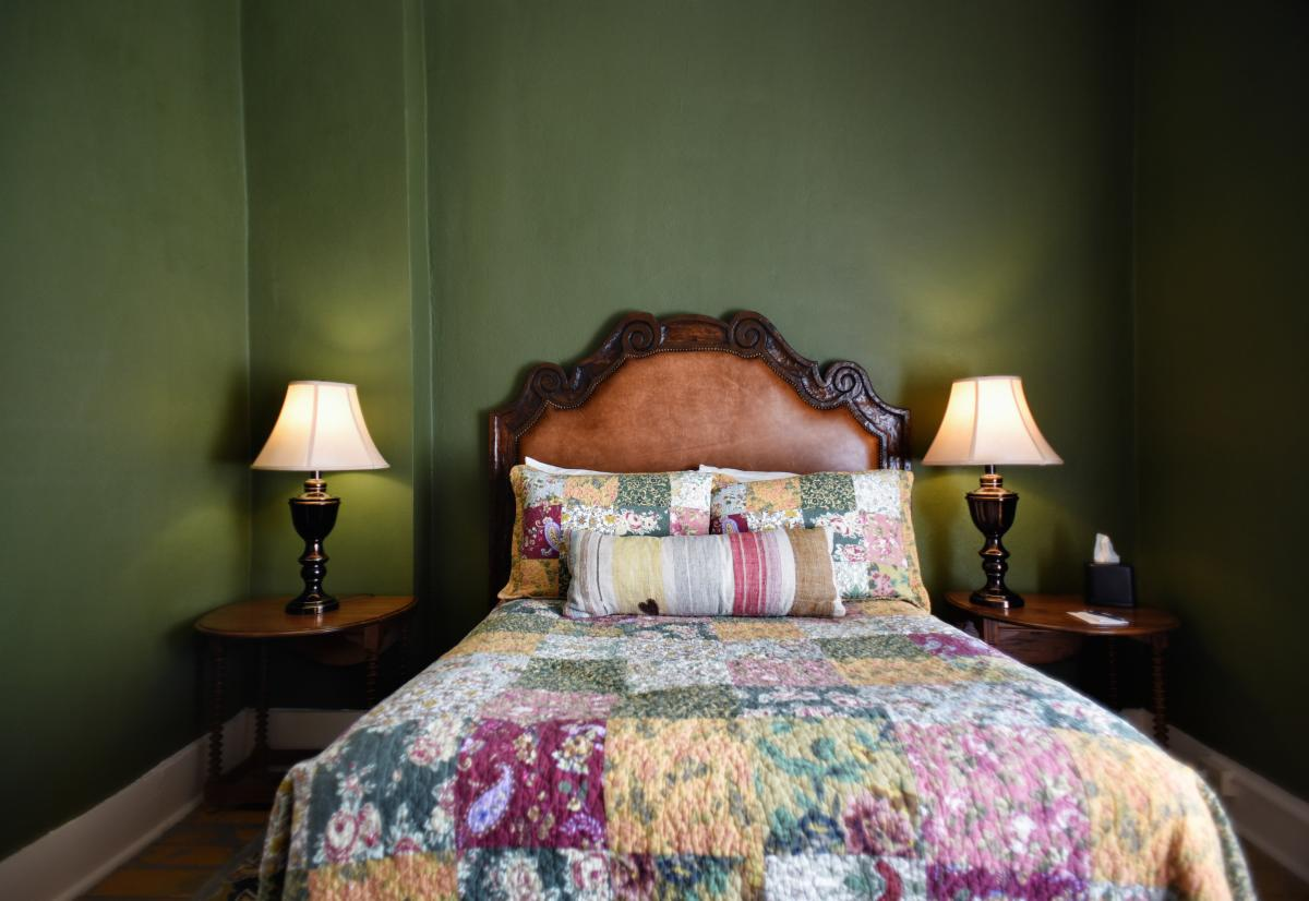 Historic room at St. James Hotel