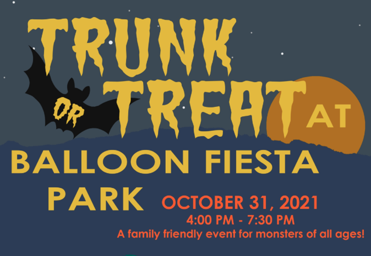 CABQ Parks & Rec 2021 Trunk or Treat