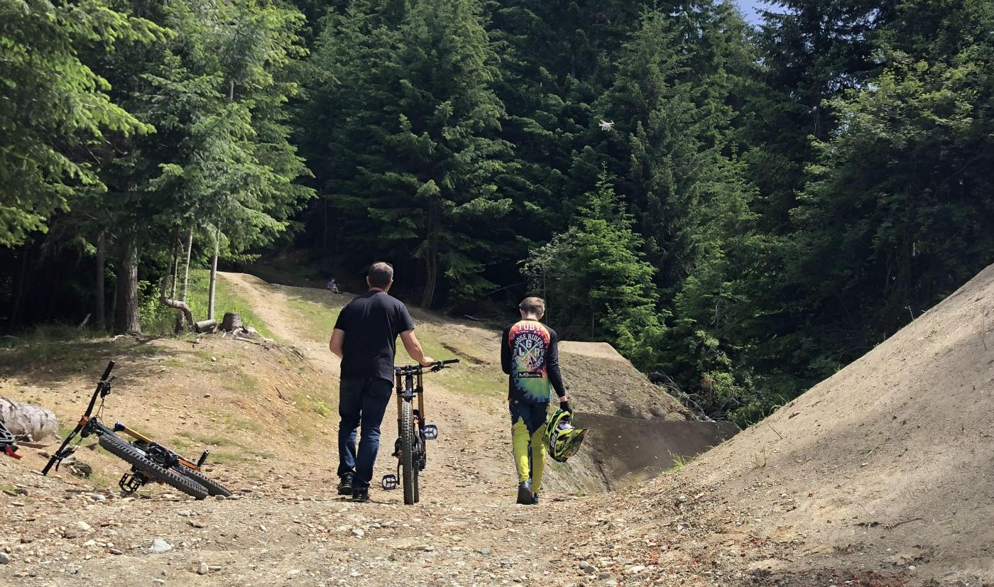 Toby Meek, Dream line MTB trail