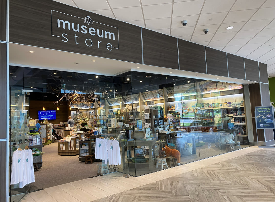 museum store at the cook museum