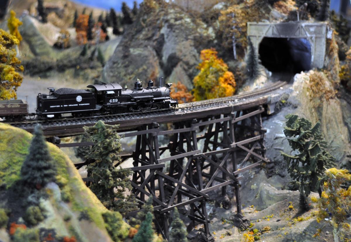 D&SNGRR Train Museum