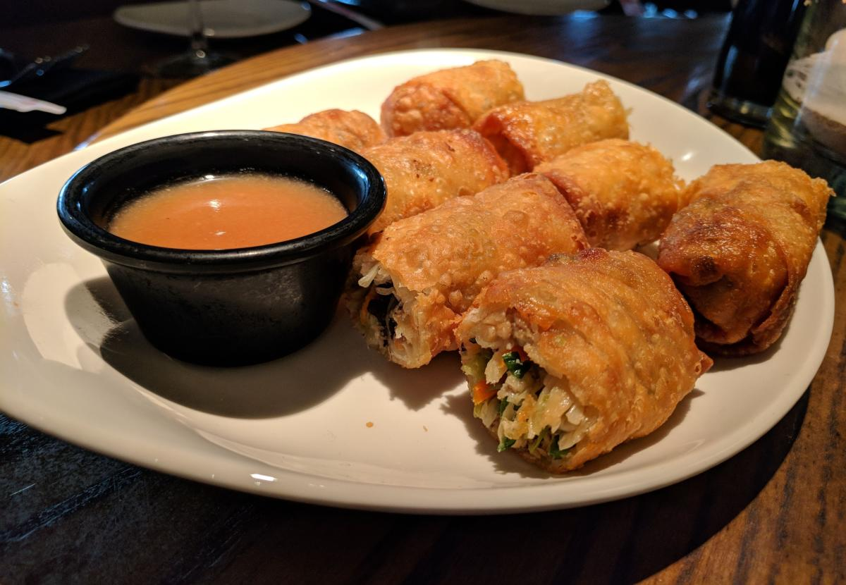 Vegetable Spring Rolls at P.F. Chang's