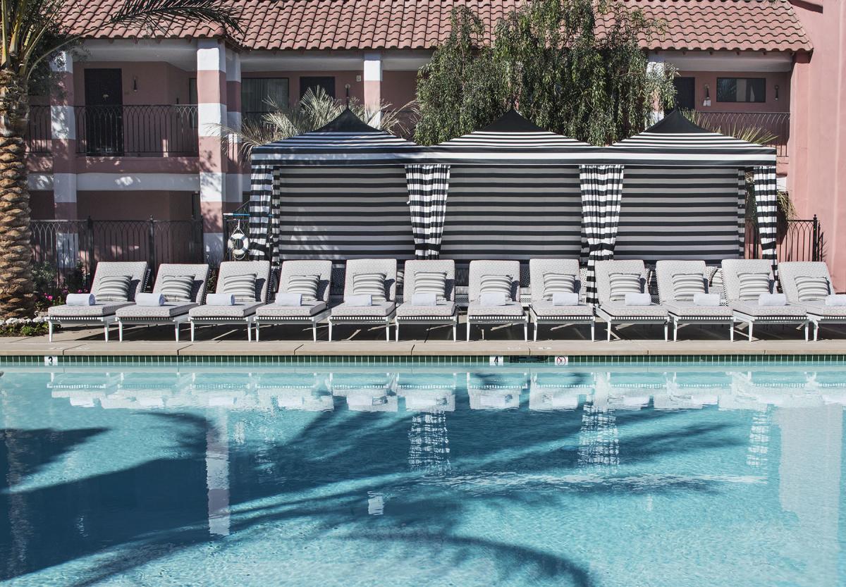 Pink Cabana, the sande hotel, pool