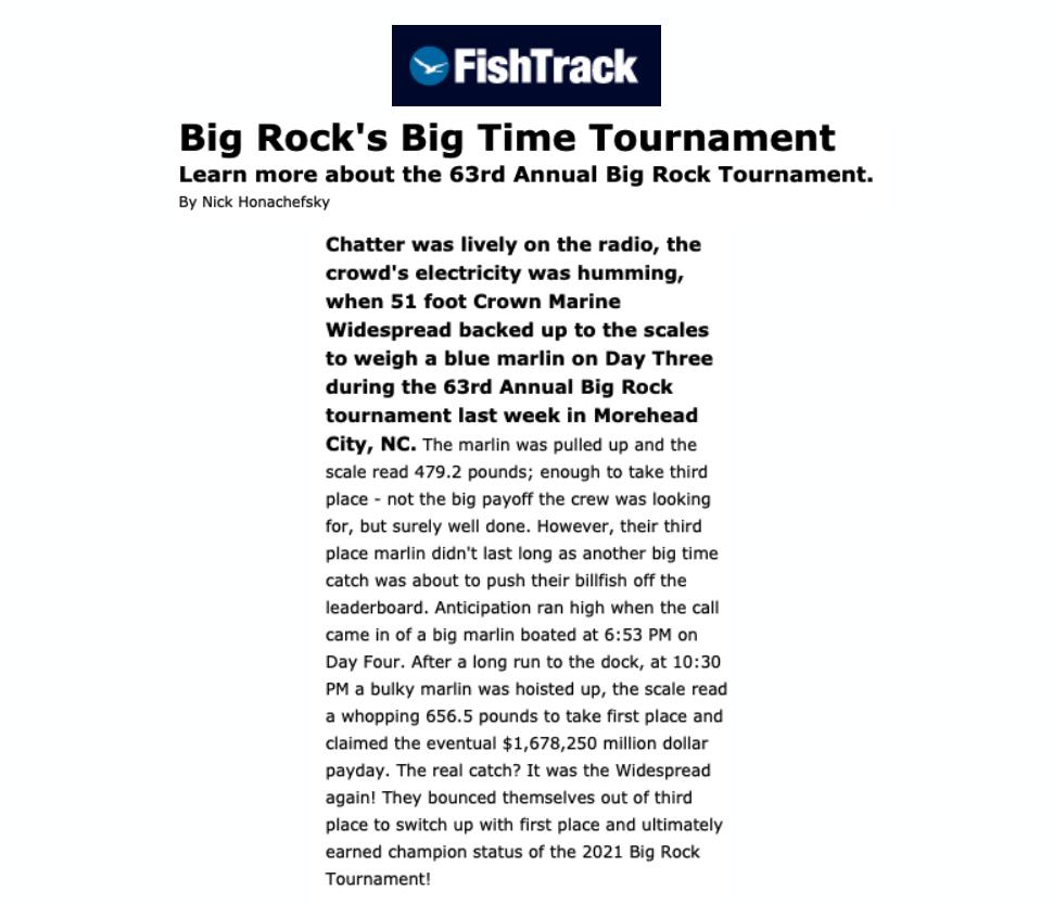 FishTrack Press Release Cover