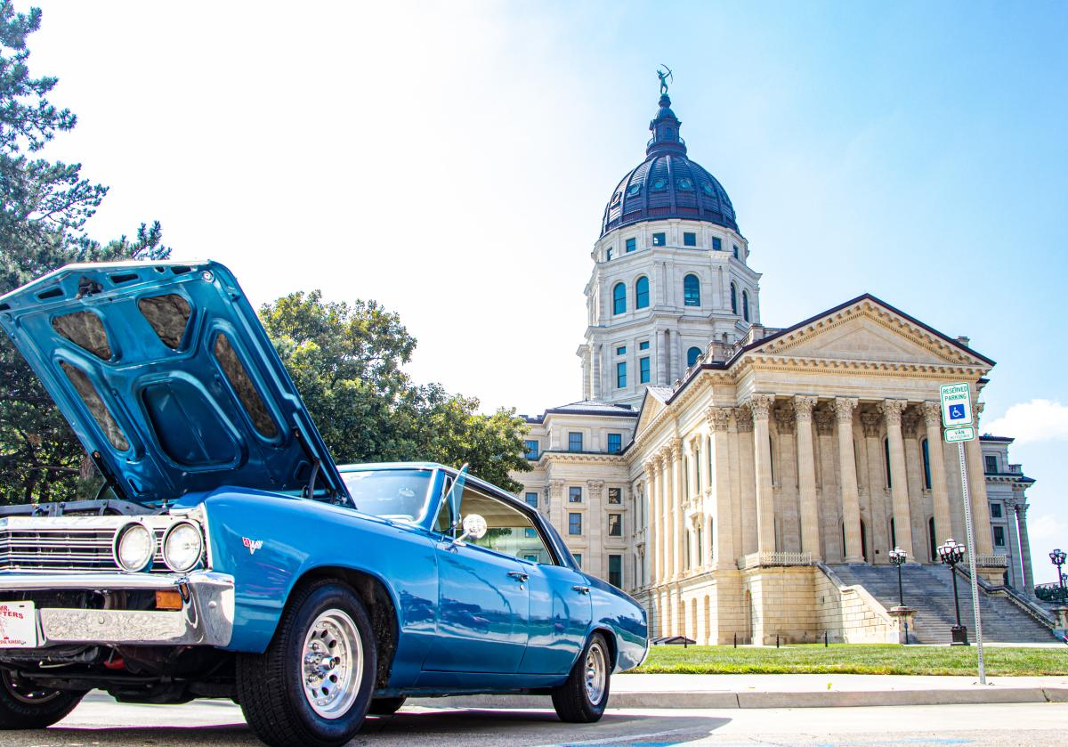 Cruisin' The Capitol Car Show | Kansas Statehouse in Downtown Topeka, KS