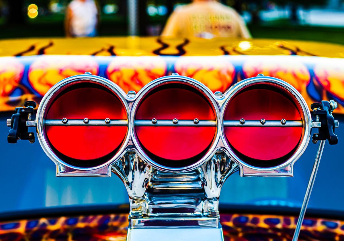 Cruisin' The Capitol Car Show - close up   Topeka, KS
