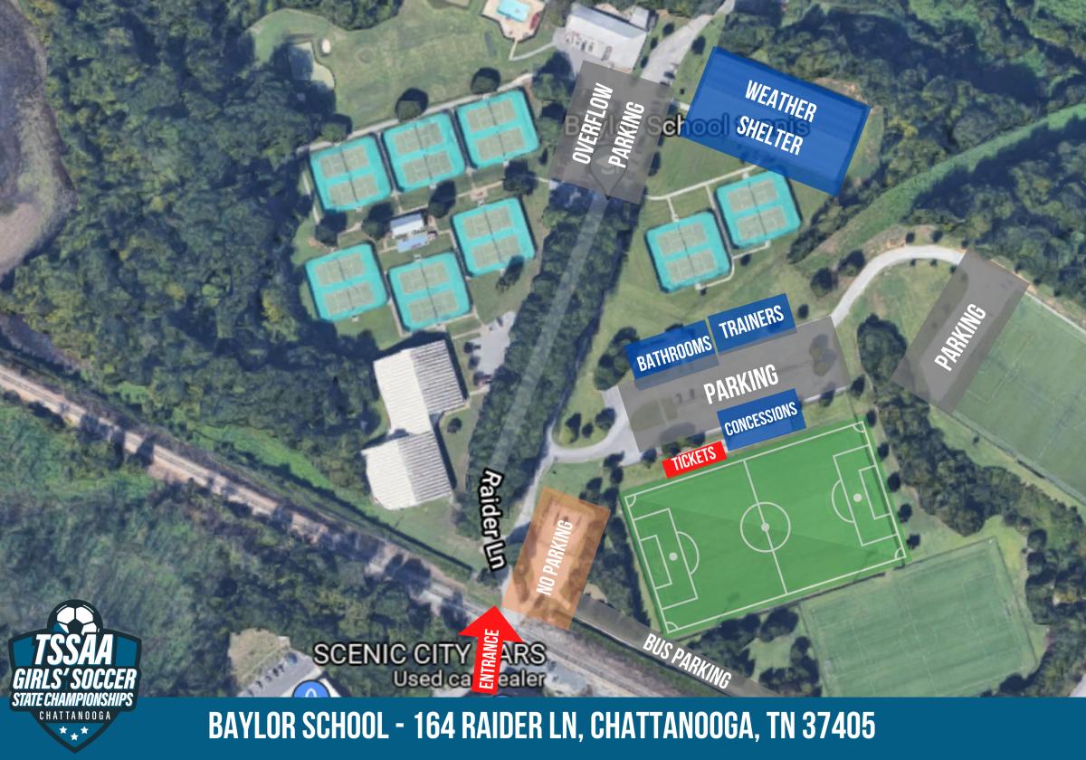 baylor venue map