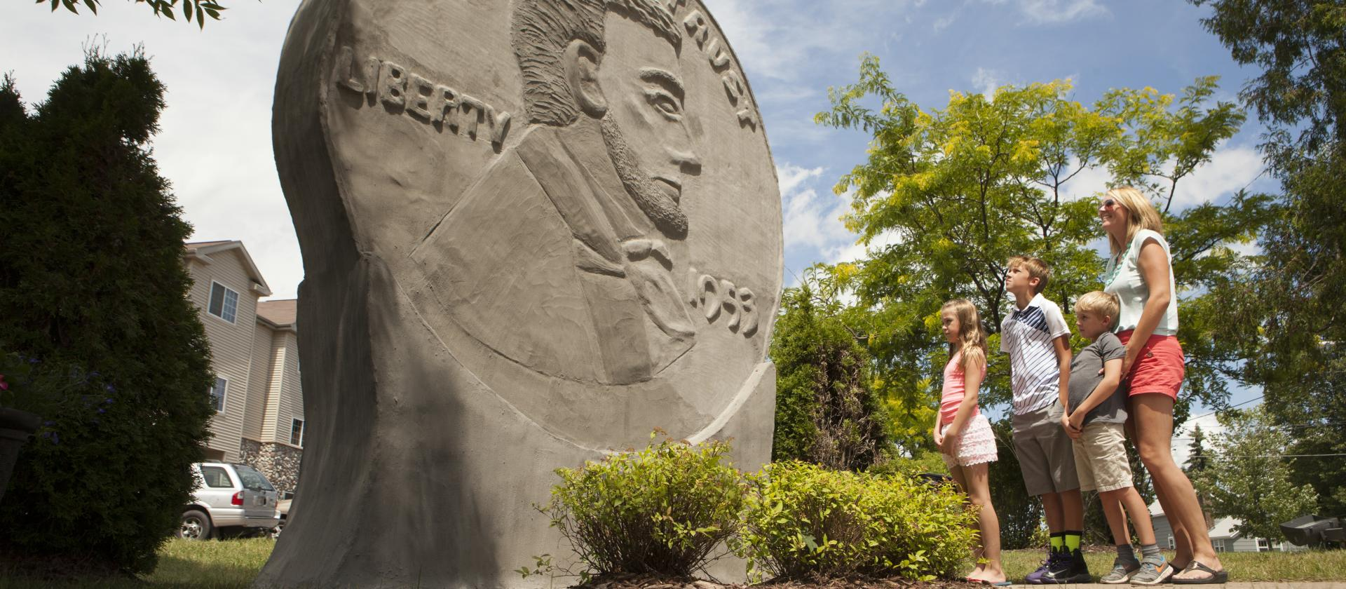 penny statue