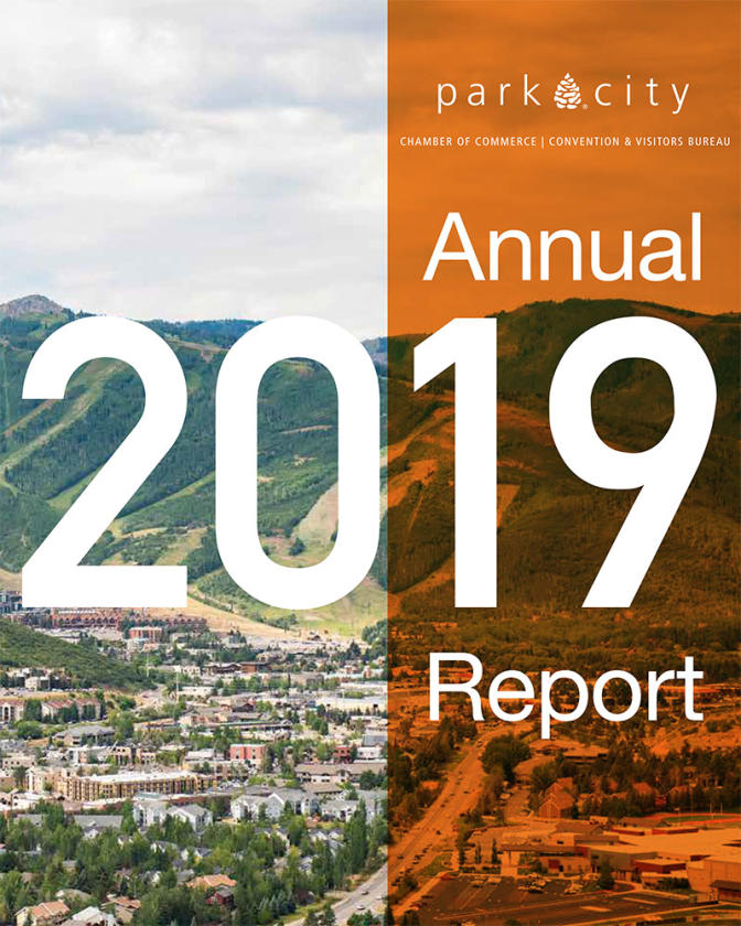 Park City Chamber 2019 Annual Report Cover