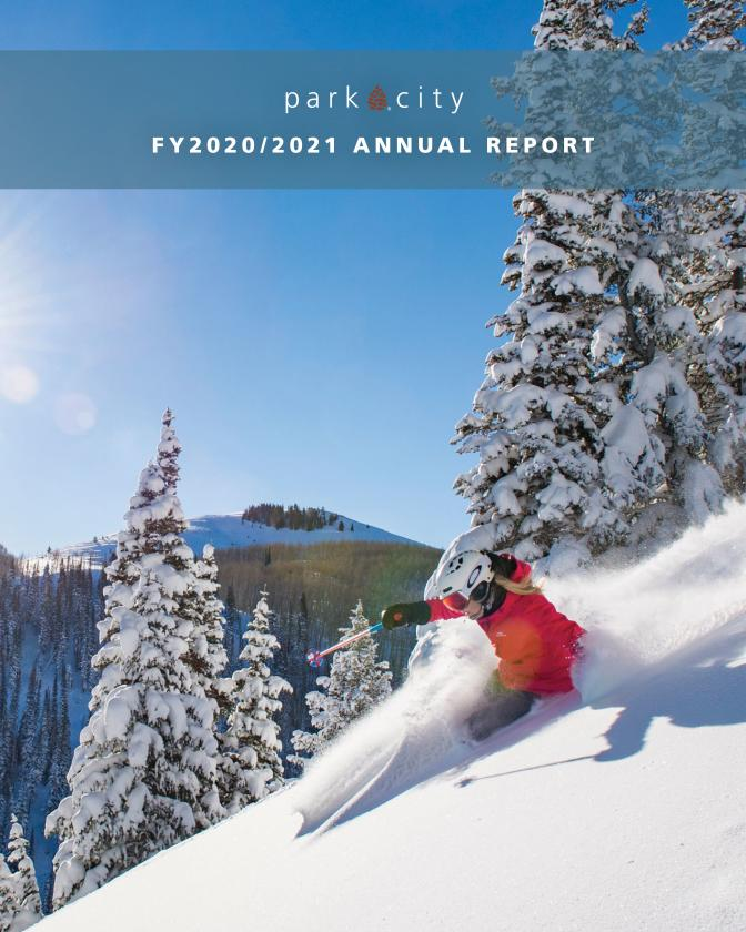 Cover of Park City Chamber 2021 Annual Report