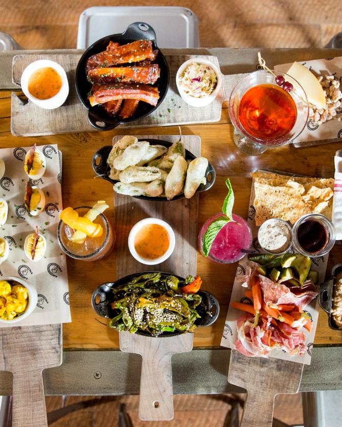 Table of Appetizers