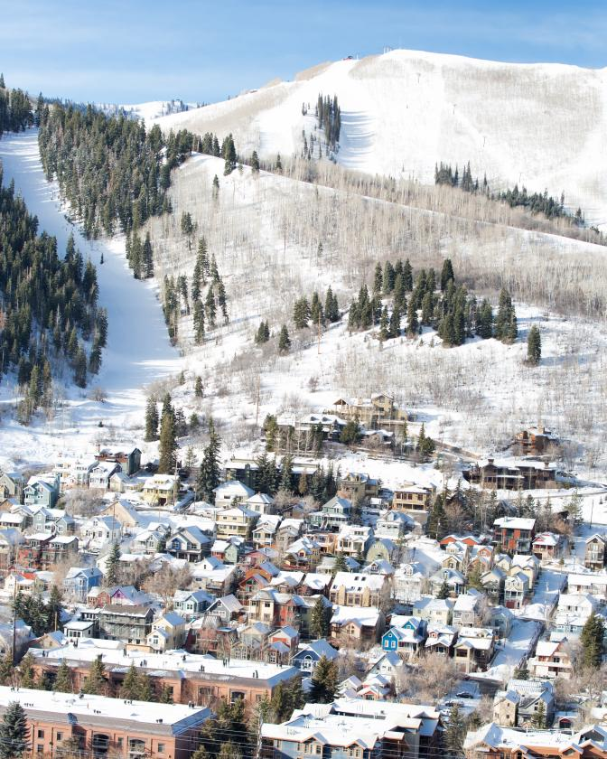 View of Winter in Park City